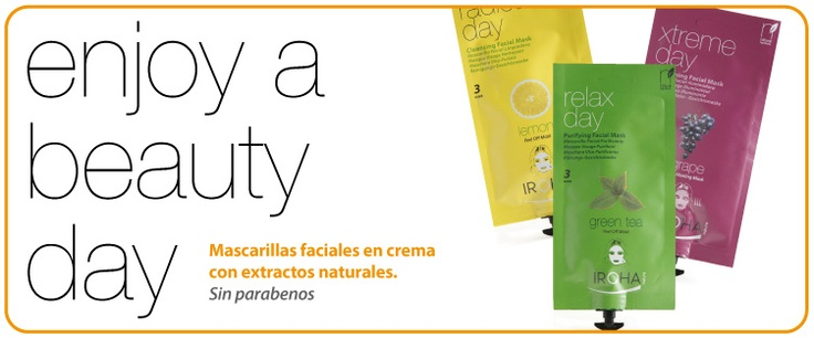 Enjoy a Beauty day! Mascarillas faciales Iroha Nature - Iroha Nature Face masks