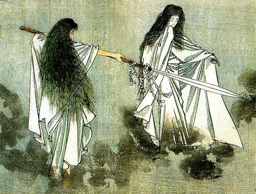 creation myth      izanagi      izanami      japanese mythology