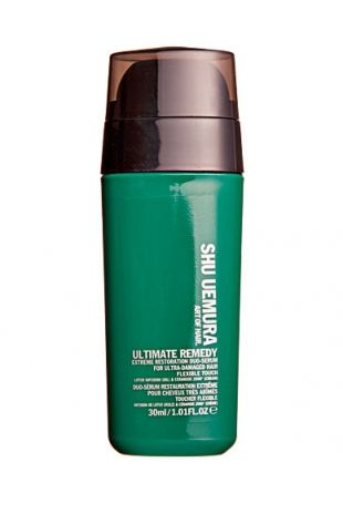 Spa per capelli: Ultimate Remedy Extreme Restoration Duo Serum For Ultra Damaged Hair SHU UEMURA