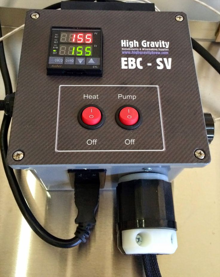 The Screwy Brewer: The Ultimate Electric Brew In A Bag Brewday