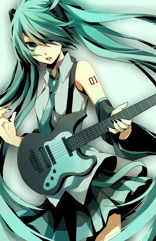 Hatsune Miku. YAY VOCALOID!!!!