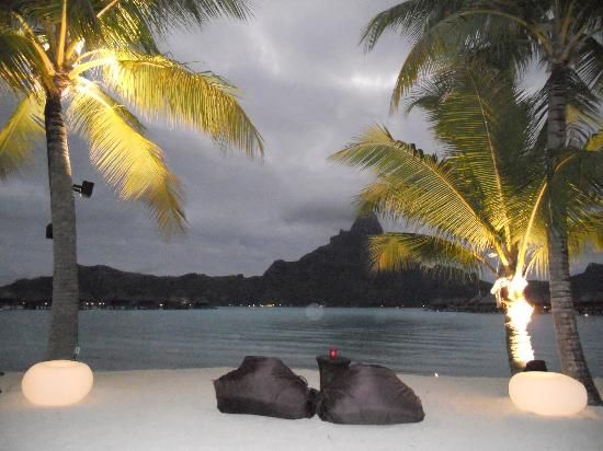 InterContinental Thalasso-Spa Bora Bora: de nuit
