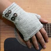 fingerless gloves knit