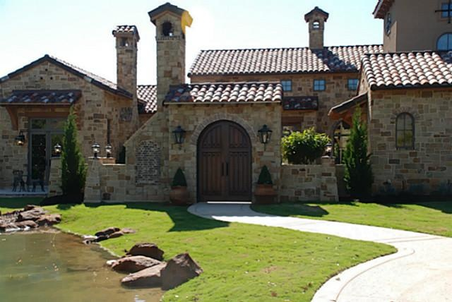 tuscan style home in colleyville, texas | dream home ideas