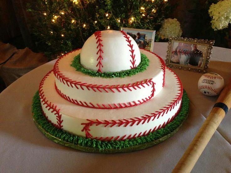 Leuke honkbal taart door the cakeman