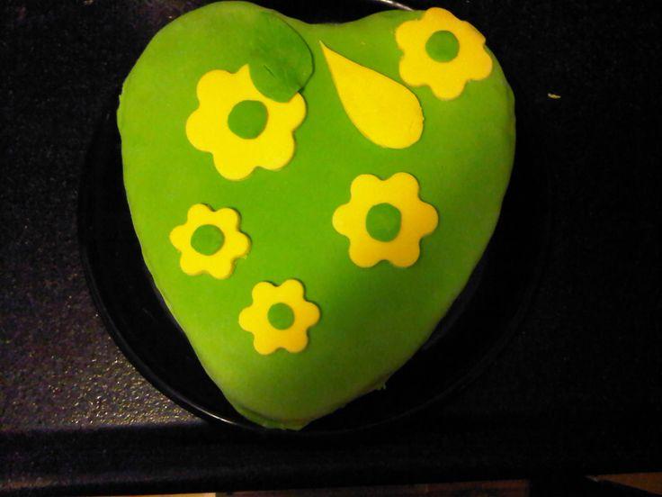 Een van mijn eerste taarten