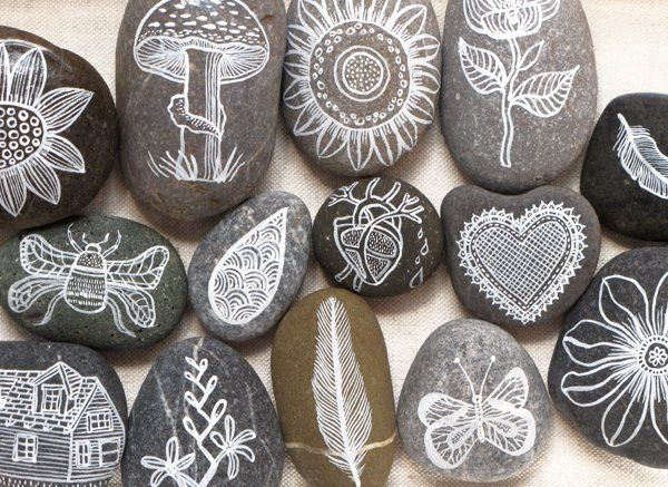 Mark Montano: ROCK MY WORLD! If I could draw or paint, I would do it on rocks.