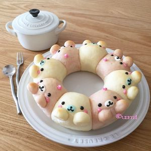 あのちぎりパンが進化して可愛さ倍増♡話題の「3Dちぎりパン」をお家で作ろう! - NAVER まとめ
