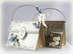 Cardville- Cards by Elizabeth: Paper bag purse- tutorial