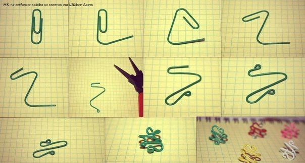 diy paper clip shapes - Google Search