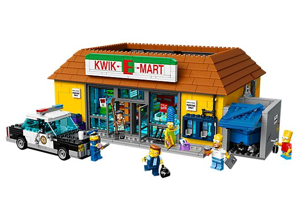 LEGO - Simpsons - Visit The Kwik-E-Mart—Springfield's favorite convenience store! 1st May 2015 AU$329.99