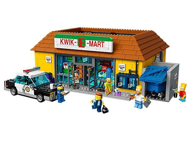 Visitez le Kwik-E-Mart—L'épicerie préféré de Springfield !