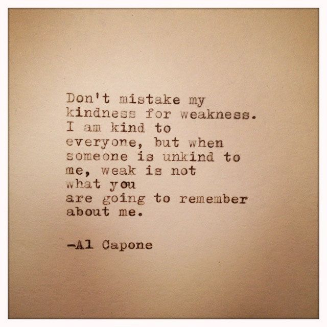 Al Capone Quote Typed on Typewriter by farmnflea on Etsy, $9.00