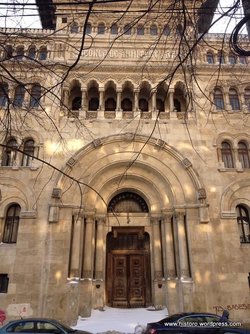 University of architecture Ion Mincu, Bucharest
