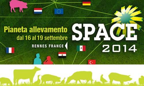 #SPACE 2014 The international exhibition for all professionals of animal productions: cattle, beef & dairy, pig, poultry, rabbit, sheep and goat industries.