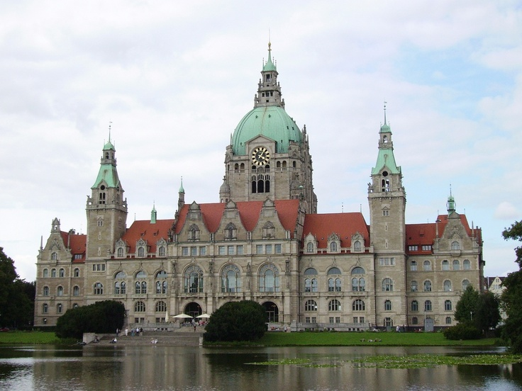 Neues Rathaus Hannover.
