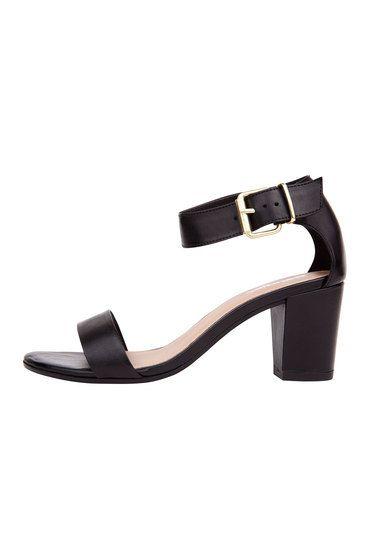 Buy Sandler Block Heel Sandal With Ankle Strap - Bolivia   Shop Shoes Womenswear at the BrandStore EziBuy NZ