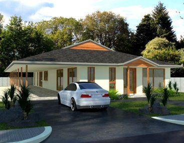 4 Bed Homestead House Plan