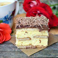 Ciasto kostka królowej ( bez pieczenia)