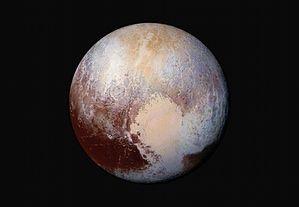 Pluto in color