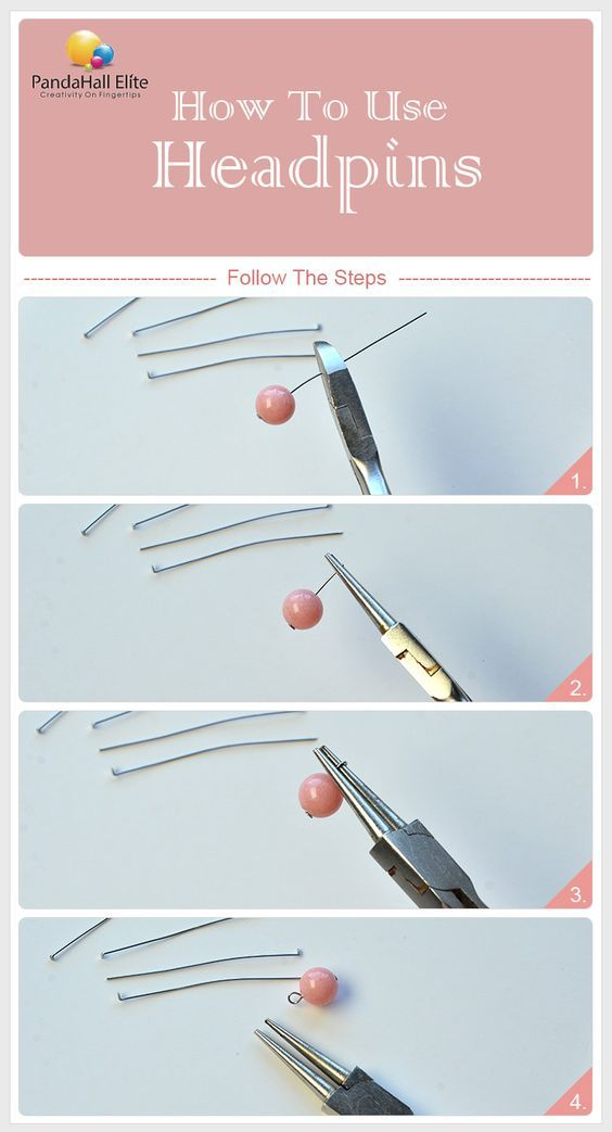 Learn How To Use Headpins From Pandahallelite Jewelry Making
