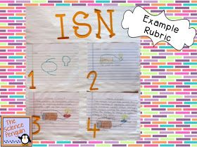 The Science Penguin: Science Notebook Picture Rubric