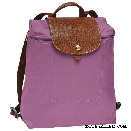 Longchamp Le Pliage Backpack Lilac