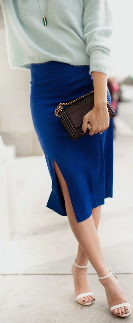 Into The #Blue by The Christelle Factor #dress #fashion #style
