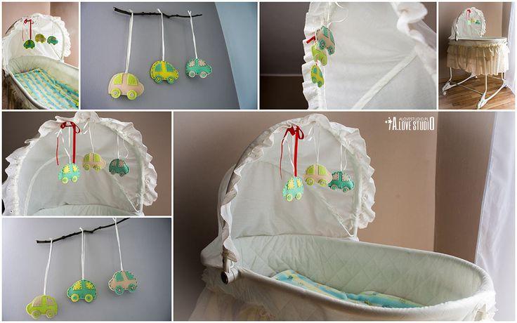 ozdoby do pokoju dziecięcego z filcu ręcznie robione