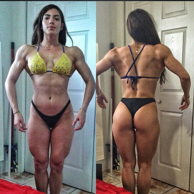 Sachy Alarcon | Muscles | Pinterest