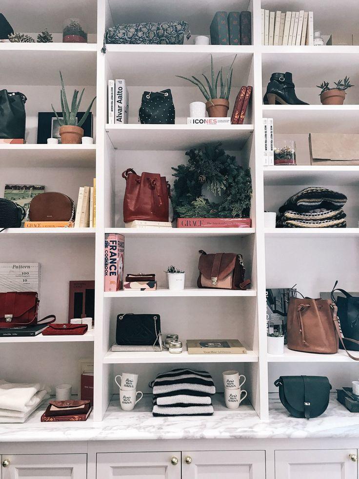 Inside Sézane Soho NYC location