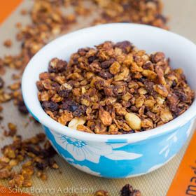 Oatmeal Raisin Cookie Granola.