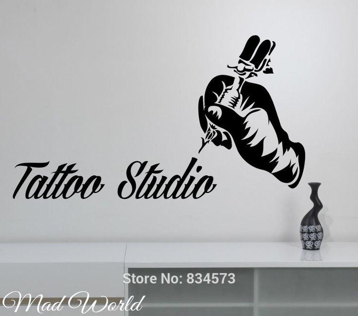 Resultado de imagem para quadro poster tema maquina de tatuar estúdio de tatuagem