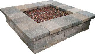 Semplice Square Fire Pit
