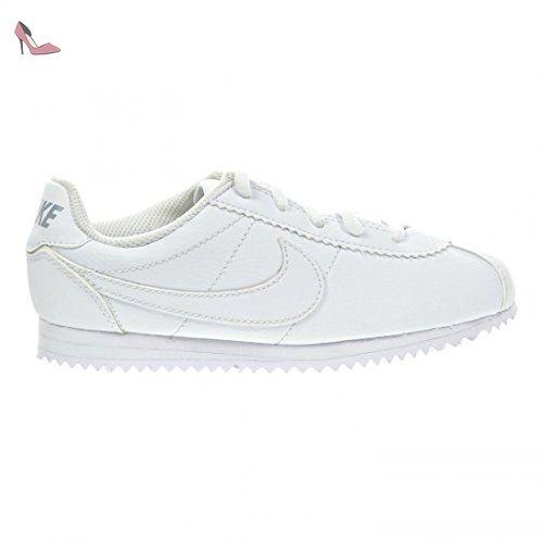 Nike Cortez (PS), Baskets Basses Bébé Garçon, Blanc Cassé-Blanco (Blanco (White / White-Wolf Grey), 30 EU - Chaussures nike (*Partner-Link)