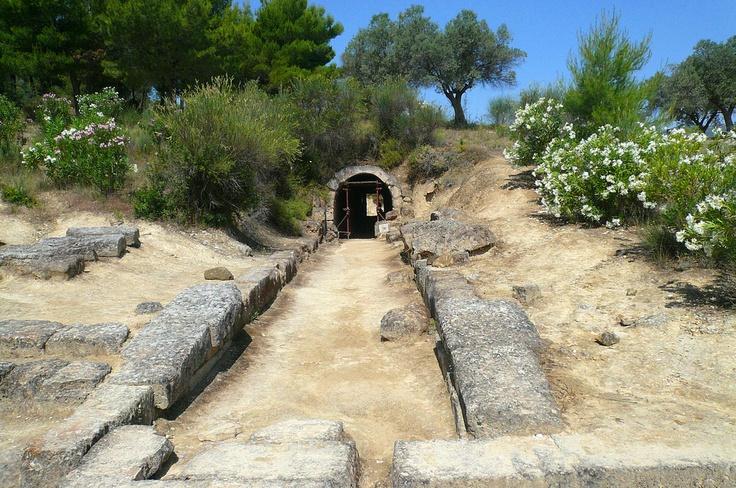 Ancient Nemea's Stadium -Tunnel to Locker Rooms.