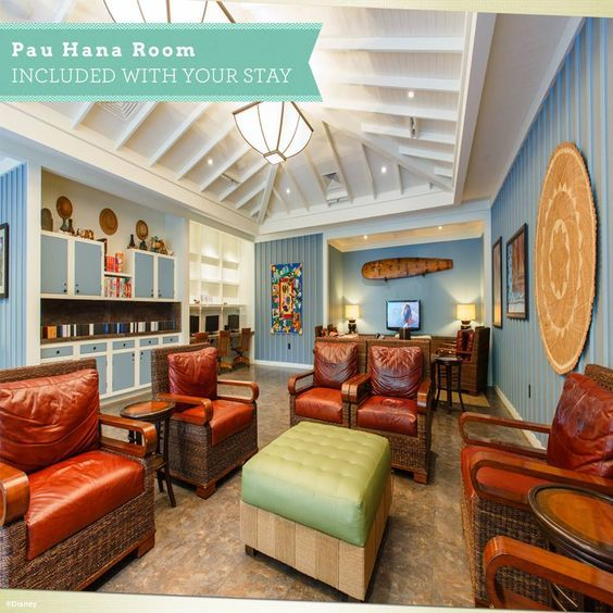 Games, crafts, movies and more are waiting for your family at the Pau Hana Room at at Aulani, a Disney Resort & Spa in Hawai'i. The best part? It's included in your stay! Email me - lauren@magicaltravel.com - for more information about Aulani or for a FREE vacation quote! #Disney #Hawaii #Aulani #Travel #TravelAgent #DisneyVacationPlanner