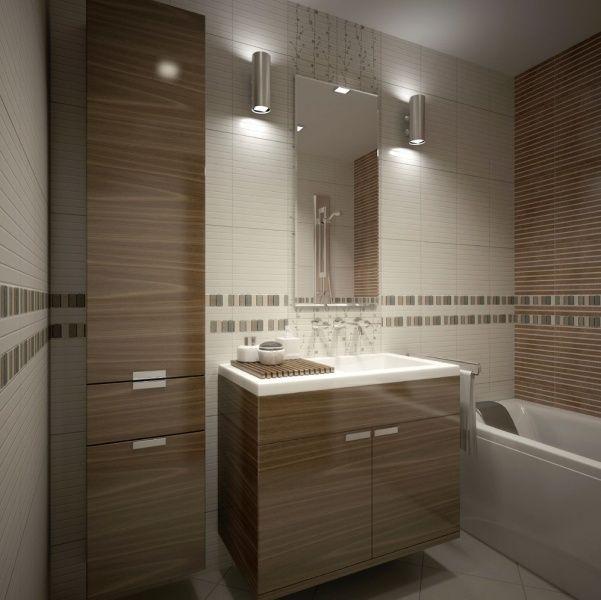 Мебель для ванной комнаты в современном стиле #дизайн_ванной #бежевая_ванная_комната #коричневая_ванная_комната #современная_ванная_ комната #современный_дизайн #мебель_для_ванной_комнаты