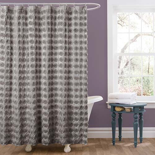 best 25 gray shower curtains ideas on pinterest spa like living room ideas garden tub. Black Bedroom Furniture Sets. Home Design Ideas