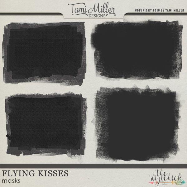 Flying Kisses Masks