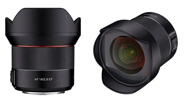 Leak Samyang To Announce Autofocus 14mm F2 8 Lens For Canon Ef Mount Canon Lens Autofocus Lens