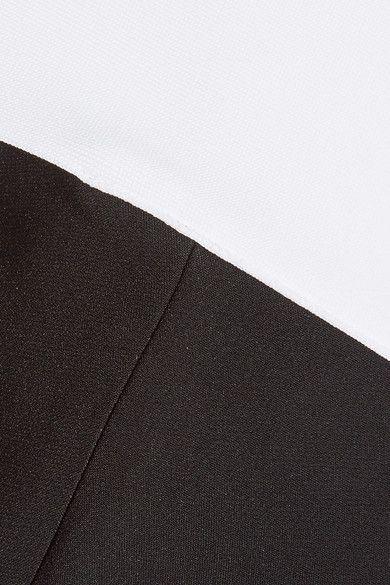 Roland Mouret - Neilson Off-the-shoulder Stretch-crepe Jumpsuit - Black - UK18