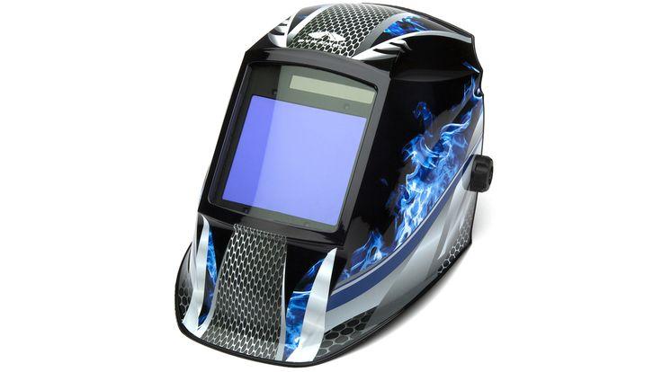 Pyramex WHAM3030FM Fire Metal Decorated Auto Darkening Helmet - Industrial Safety Products