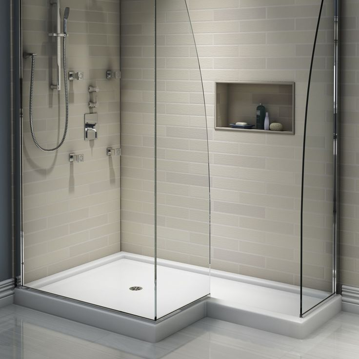 1000 ideas about shower base on pinterest acrylic shower base shower pan and walk in shower tray - Walk in shower base ...