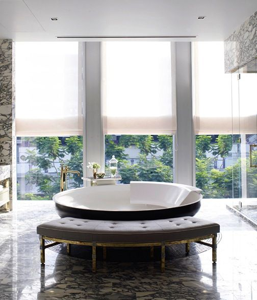 bathroom design: David Collins Interior Design
