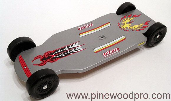Fastest pinewood derby car designs photo
