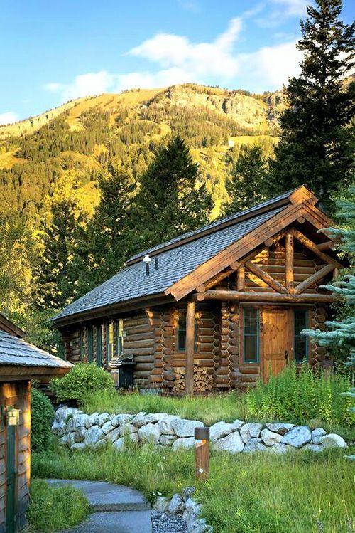 madera interiores cabaas rsticas cabaas de madera cabina de lujo jackson hole wyoming pequeas cabaas cabaas de montaa casas de madera