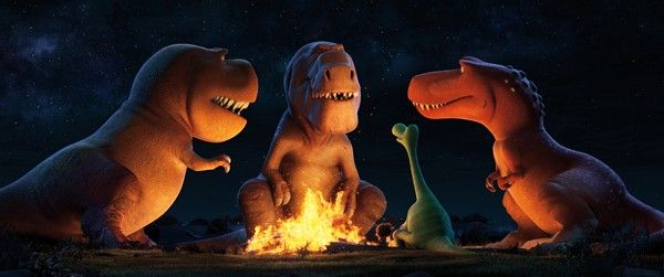 Campfire Stories with Director Peter Sohn and Creative Team of Pixar's THE GOOD DINOSAUR #GoodDinoEvent