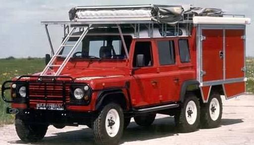 6x6 expedition equipped vehicle. Picture © Foley Specialist Vehicles.