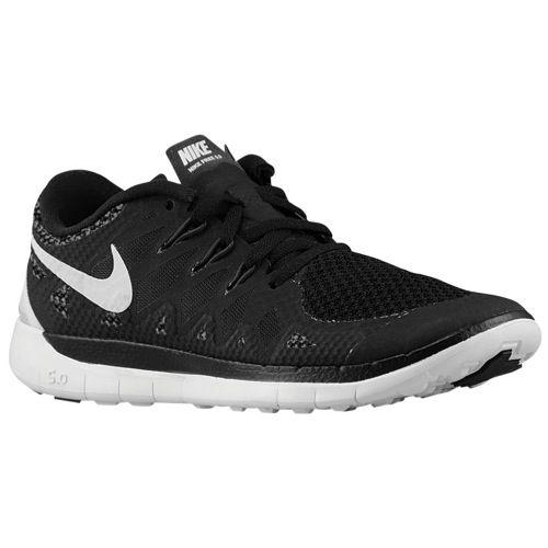 Nike Free 5.0 - Boys' Grade School - Running - Shoes - Black/Anthracite